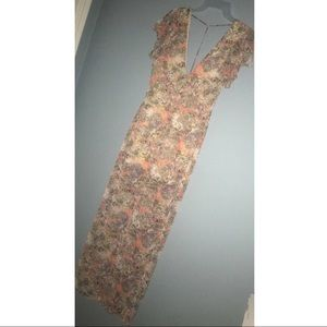 Size small Fab'rik dress,hole in side&unraveling